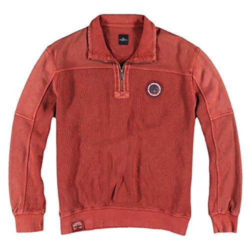 engbers Herren Sportives Sweatshirt, 24055, Rot