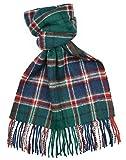 Lambswool Scottish Macfarlane Hunting Modern Tartan Clan Scarf Gift