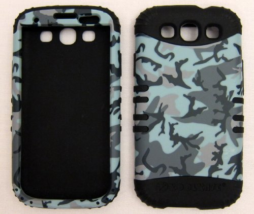 Silicone and Hard Plastic Case for Apple iPhone 3G 3GS Grass Camo with Pink Skin