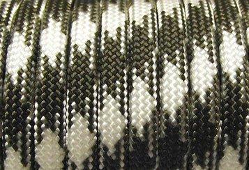 3 Zipper - Paracord Typ III - Reißverschluss Zipper - Multifarben - Trekking - Beat II Honky Tonk Olive Drab & White tCKeu95u