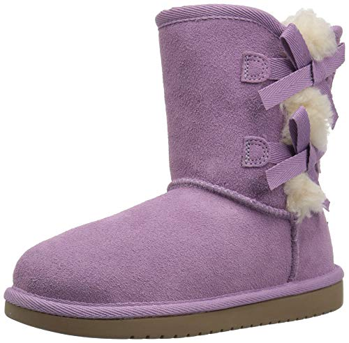 Koolaburra by UGG Girls' K Victoria Short Fashion Boot Lavender Mist 01 Medium US Little Kid
