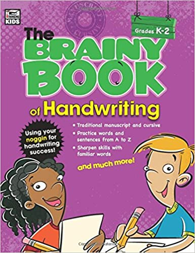 Book Brainy Book of Handwriting (Brainy Books)