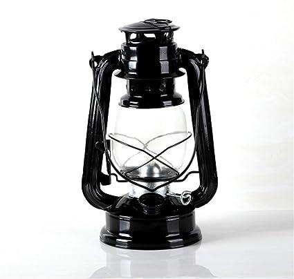 métal outdoor lampe DEL Camping Lanterne dans le style retro Tempête Lanterne Petroleum