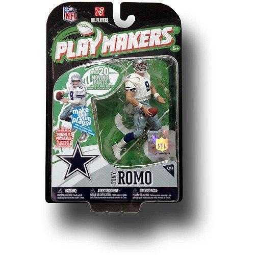 McFarlane Toys Dallas Cowboys Tony Romo Playmakers Série 1 Action Figurine