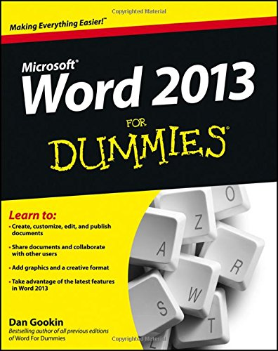 Price comparison product image Word 2013 For Dummies