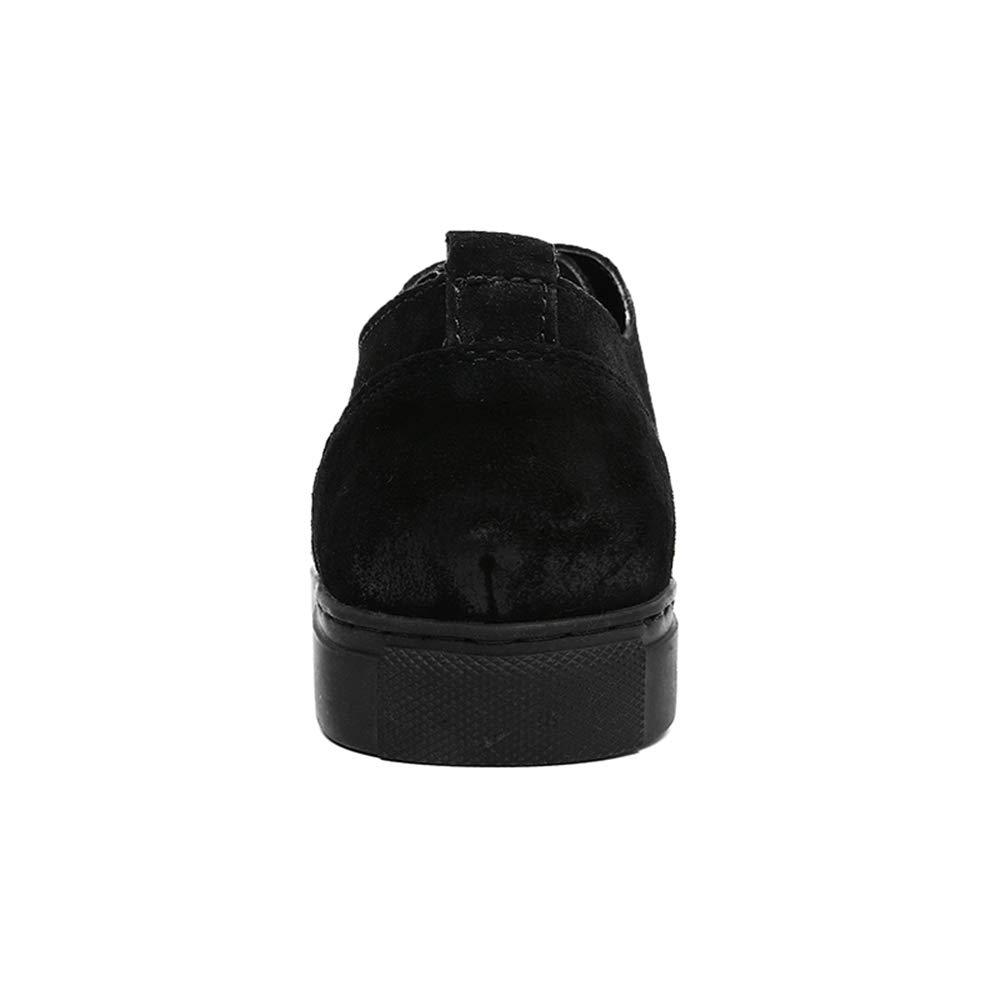 Dundun-Stiefel 2018 Kommende Stiefel, Komfortable weiche Schnürschuhe der Männer formelle formelle formelle Freizeitschuhe Brogue Mode Oxford lässig (Farbe   Schwarz, Größe   42 EU) 110df5