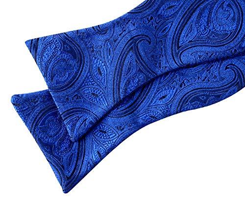 Alizeal Foncé Homme Violet Papillon Nœud 60I6x