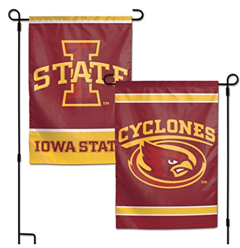 NCAA Iowa State Cyclones Official 12x18 Inch Outdoor Garden Flag