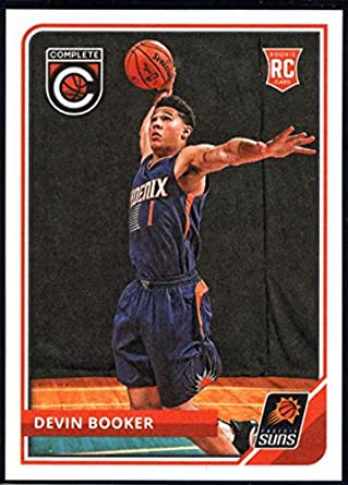 5ed2929fe5438 Amazon.com: 2015-16 Complete Basketball #296 Devin Booker Phoenix ...