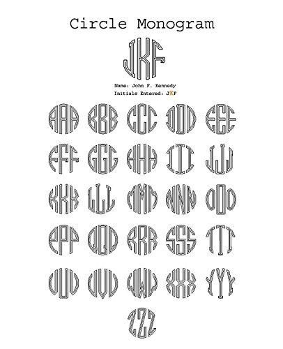 Libre Clip De De Fibra Carbono Círculo Verde Personalizado Monograma W Grabado En El Dinero qz5CEt5w