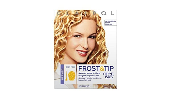 Clairol Nice \'n Easy Frost & Tip for Permed Hair, Clairol Nice \'n Easy  Frost & Tip for Permed Hair