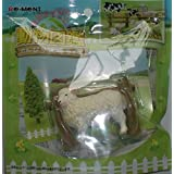 Earth whole! Animal Book leisurely ranch life sheep sheep separately figures Re-Ment