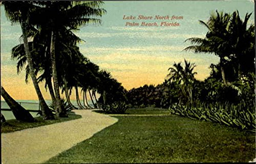 Lake Shore North From Palm Beach Palm Beach, Florida Original Vintage - Stores North Shore