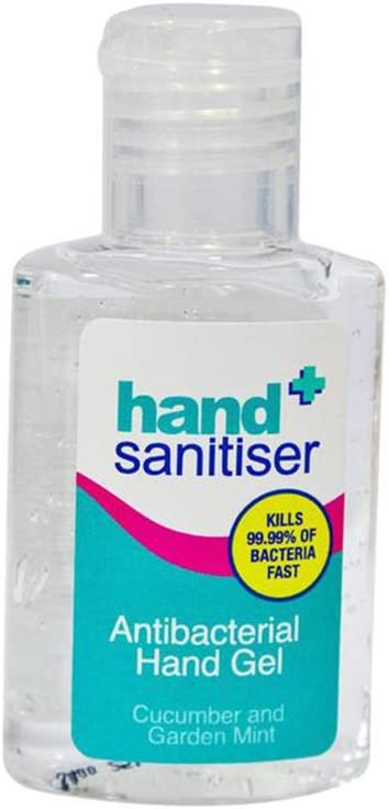 Hand Sanitiser Antibacterial Hand Gel With Cucumber And Garden