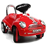 Red Ride On Car Toy Gliding Scooter with Sound & Light by Unknown