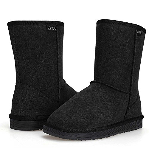 Hiver Faux Su Neige Chaud classic Casual Femmes cooshional ugg Chaussures Fourrure Bottes Plat Cheville ROxXwFg0cq
