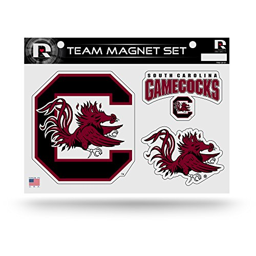 Fighting Gamecocks NCAA Team Magnet Sheet, Red, 11