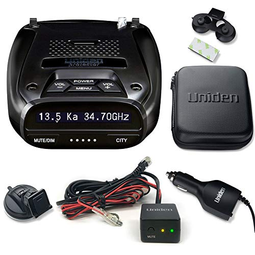 Uniden DFR7 Super Long Range Radar/Laser Detection GPS with Hardwire Kit