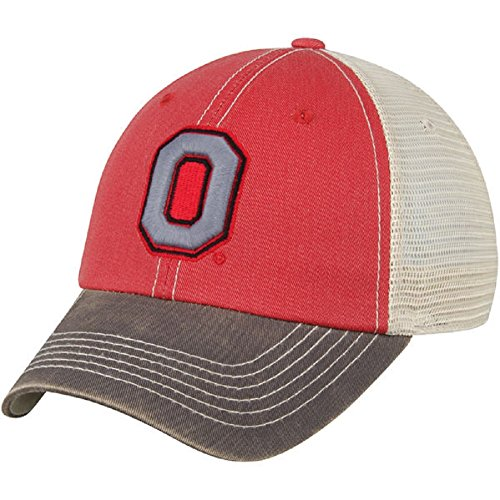 NCAA Ohio State Buckeyes Offroad Snapback Mesh Back Adjustable Hat, One Size, (Collegiate Mesh Hat)