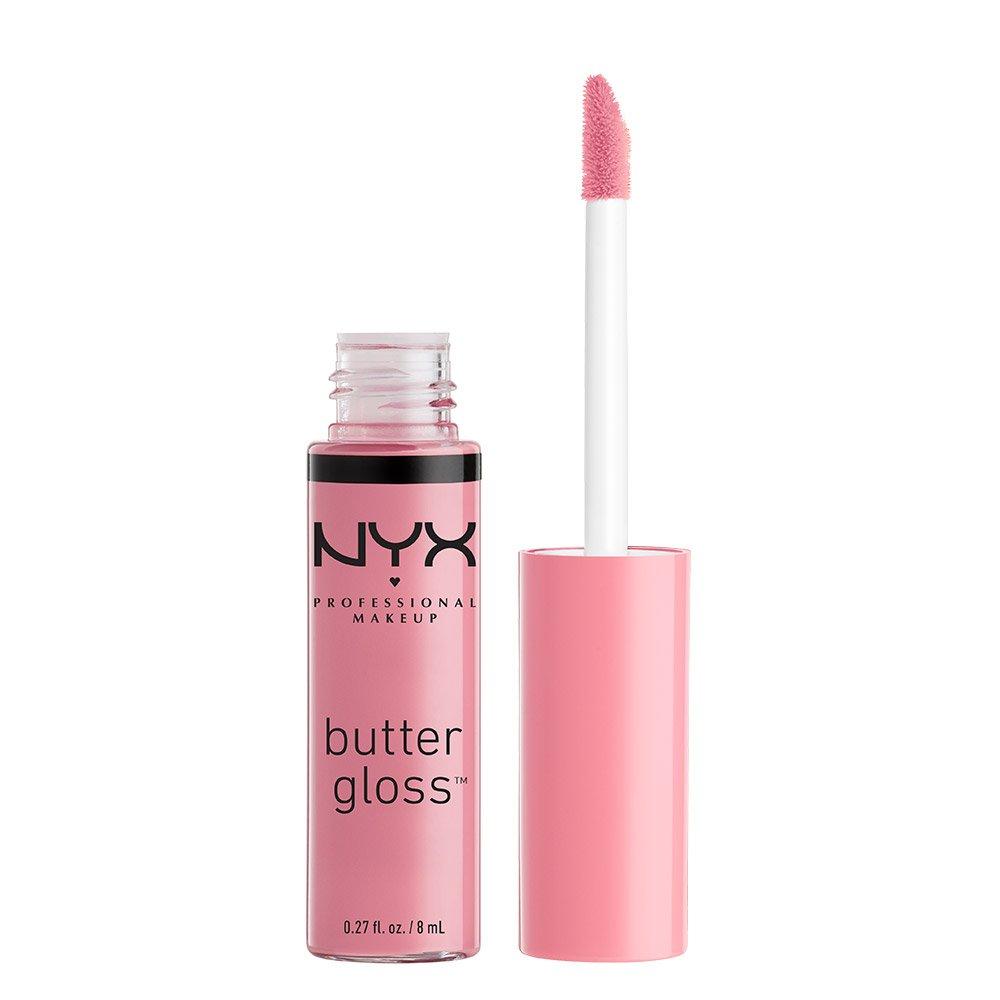 NYX Professional Makeup Butter Gloss, Eclair, 0.27 Ounce