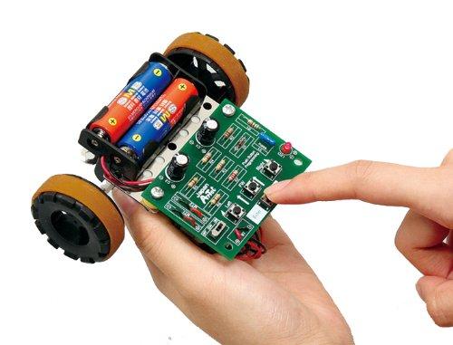 Artec 93564 Push Button Programmable Robot STEM Activity No Soldering Needed