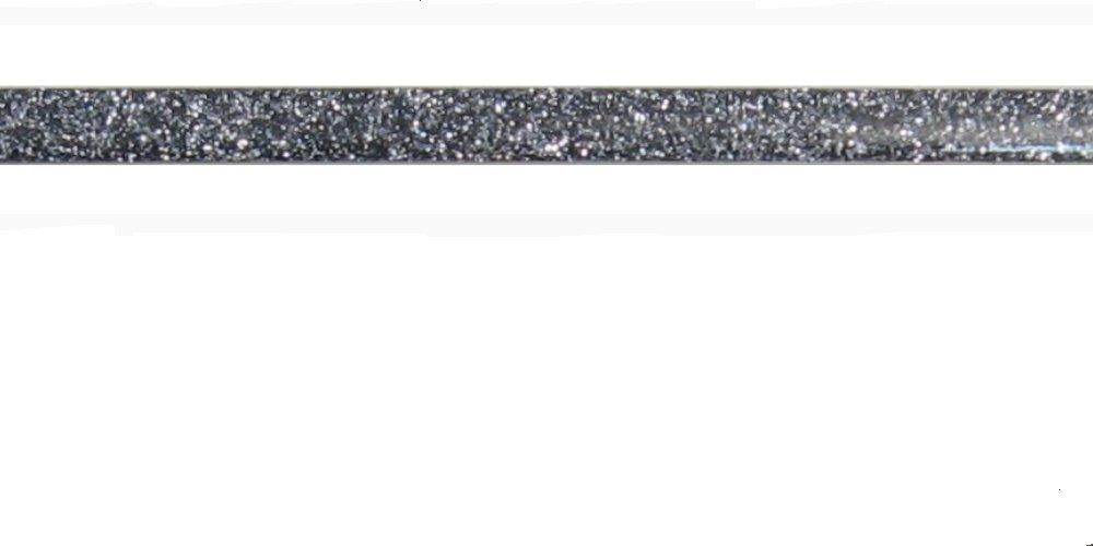 Navy Blue, 200/_X1/_X0,8CM Listelli,Profili,DECORI in Glitter per Rifiniture dei Rivestimenti BAGNI E CUCINE in Alluminio con RESINE Colorate Brillanti