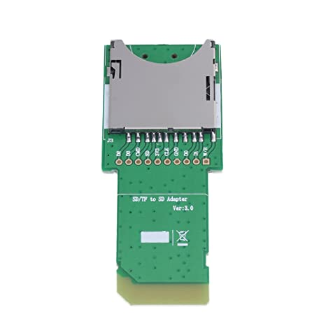 BQLZR 80 x 30 x 6 mm Verde Plástico Metal tarjeta SD/Micro ...
