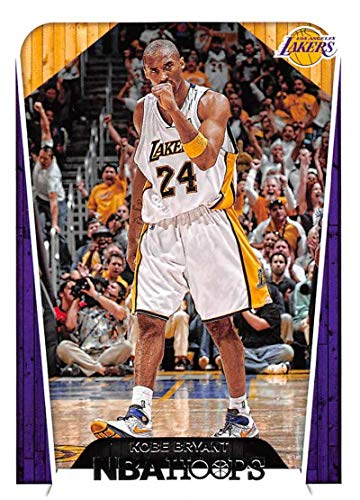 2018-19 NBA Hoops Basketball #296 Kobe Bryant Los Angeles Lakers Tribute Official Trading Card made by Panini
