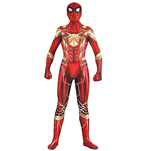 Spiderman Cosplay Versión De Acero De Todo Incluido 3D ...