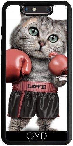 Funda Silicona para ZTE Blade V8 - Boxing Cat by Adam Lawless