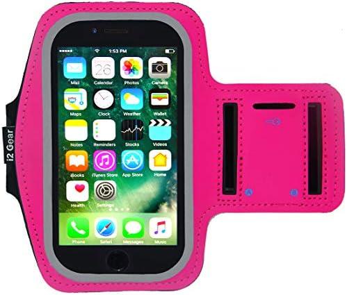 [해외]i2 기어 러닝 암밴드 아이폰 6 6S (4.7인치) 암 밴드와 키 홀더 및 반사 밴드 / i2 기어 러닝 암밴드 아이폰 6 6S (4.7인치) 암 밴드와 키 홀더 및 반사 밴드