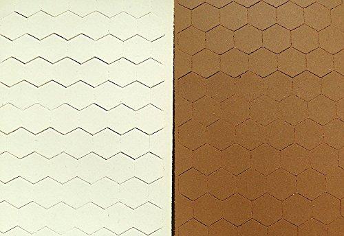 Cabinet Door Bumper Pads, Sheet of 110 (Brown)