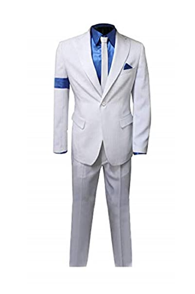 Amazon.com: Traje de esmoquin para hombre, 2 piezas, color ...