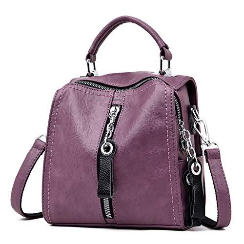 Leather Handbags Fashion Shoulder Crossbody Bag For Women (Ladies Pocketbook Jewerly Case)