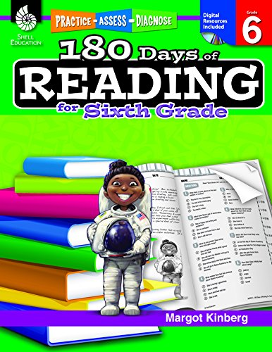 Amazon.com: 180 Days of Reading for Sixth Grade (180 Days of ...