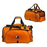 Morgan State Challenger Team Orange Sport Bag 'Morgan State Bears w/Bear'
