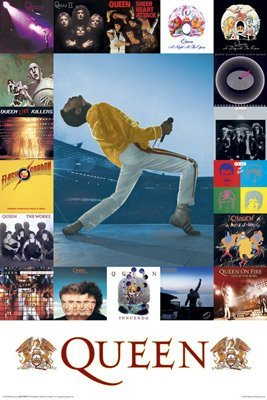 Queen Poster Album Covers 61 x 91.5cm
