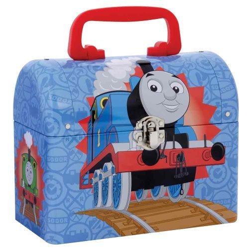 Tank Thomas Box Engine - Thomas the Tank Engine Tin Domed Keepsake Carrying Case