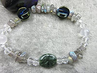 Genuine Seraphinite Healing Bracelet Promotes Weight Loss Angels Energy