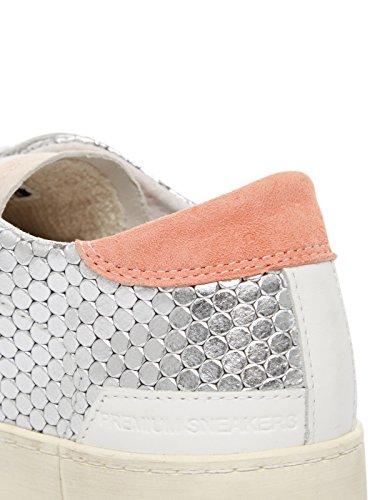 Data Collina Bassa Pong Damen Sneaker Argento-rosa