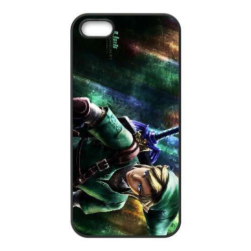 The Legend of Zelda RP83CT5 coque iPhone 4 4s téléphone cellulaire cas coque I3BC7F6NV