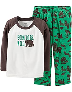 Carter's Baby Boys' 2 Piece Pant PJ Set (Baby) - Wilderness - 18 Months