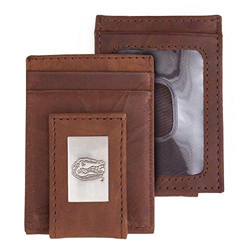 Eagles Wings University of Florida Gators Wallet Front Pocket Leather Wallet