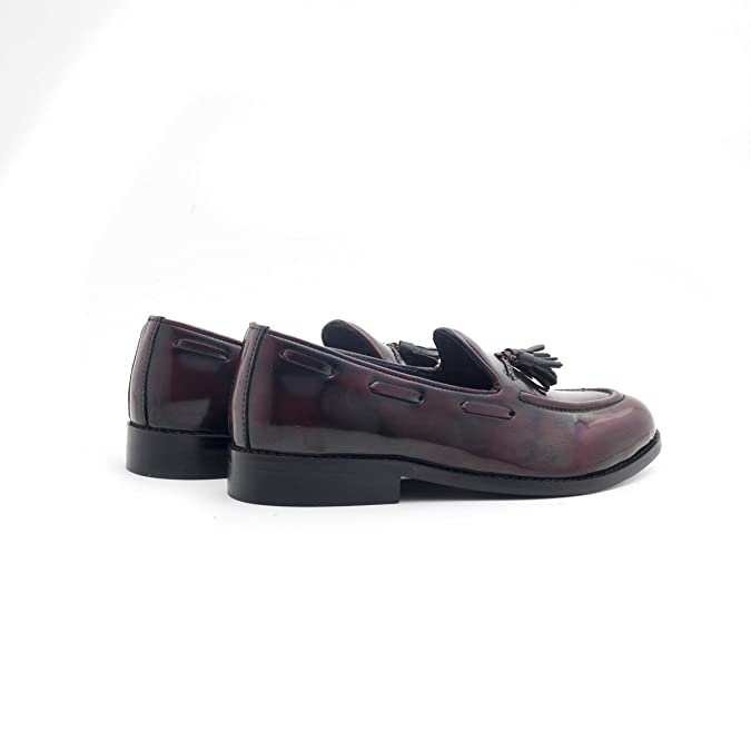 a2a7c5f02 Monkstory Men Cherokee Cherry Loafers: Buy Online at Low Prices in India -  Amazon.in