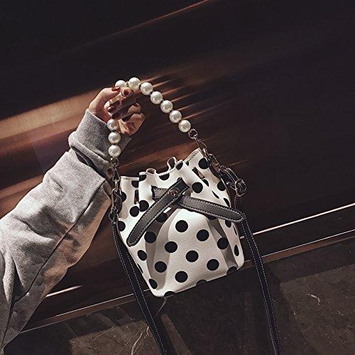 Simple Bolso Señoras nbsp; Bolso B Nuevo la C Moda Bag POPO Retro nbsp;Gift de del Messenger Pequeño Bolso de nbsp; Cadena JUSTYOU Bolso ZwqAzzx
