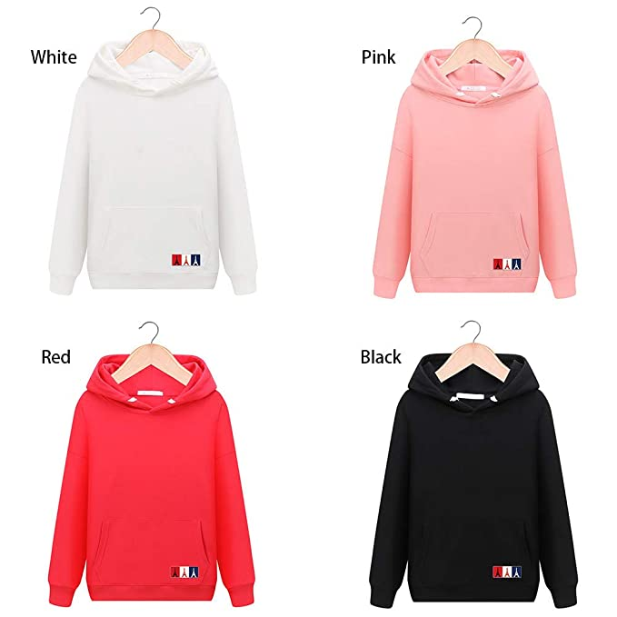 Amazon.com: Respctful ♪☆ Tops for Women,Ladies Solid Hoodie Sweatshirt Long Sleeve Pullover Casual Sport with Kangaroo Pocket Tops: Clothing