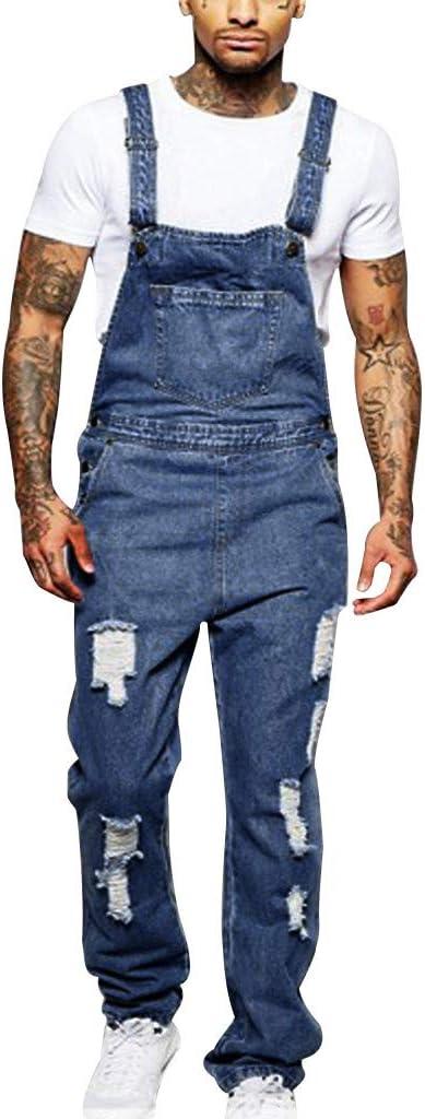 TIMEMEANS - Jeans para Hombre con Bolsillos para los ...