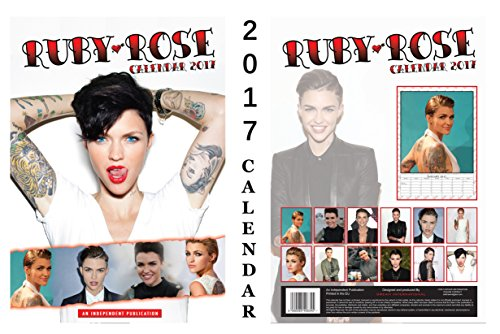 Ruby Rose 2017 Calendar + Ruby Rose Fridge - Ruby Roses