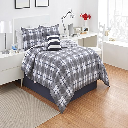 Izod Fairfax Plaid Comforter - Fairfax Fair
