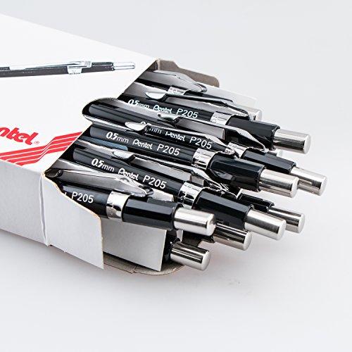 Pentel Sharp Automatic Pencil, 0.5mm Lead Size, Black Barrel(P205A) by Pentel (Image #1)
